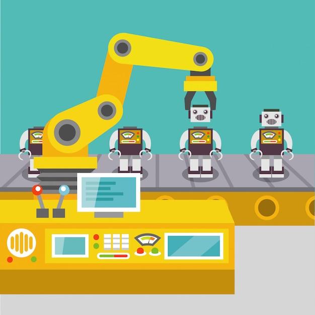 Roboterarm konzept