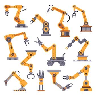 Roboterarme gesetzt