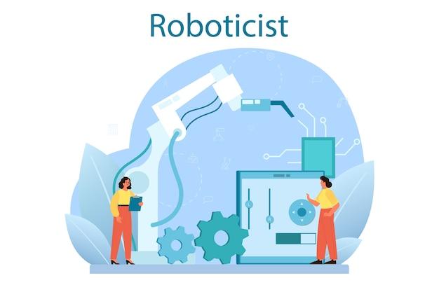 Roboterkonzeptillustration
