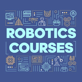 Roboterkurse fassen zusammensetzung ab.