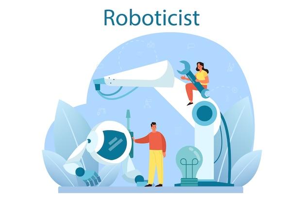 Robotertechnik und konstruktion
