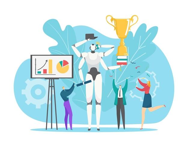 Robotertechnologie illustration