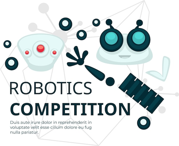 Robotik-wettbewerbstechnologien und -konstruktion