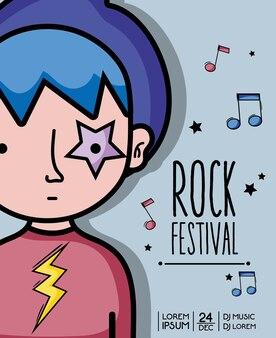 Rock festival konzert musikveranstaltung