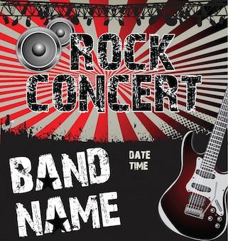 Rock Konzert Poster