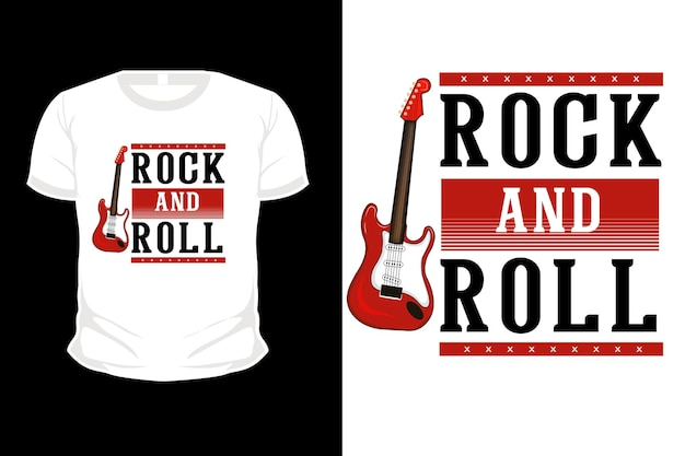Rock'n'roll-t-shirt