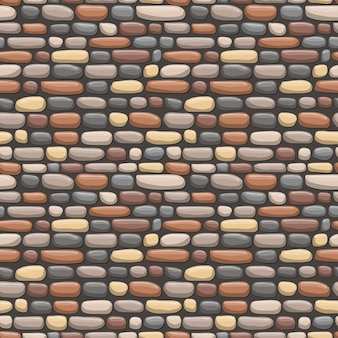Rock nahtlose musterillustration