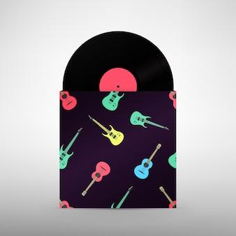 Rockband-designvorlage