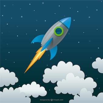 Rocket-cartoon