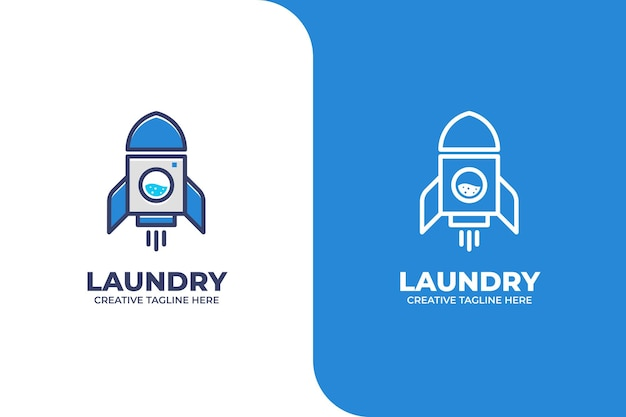 Rocket laundry wash firmenlogo