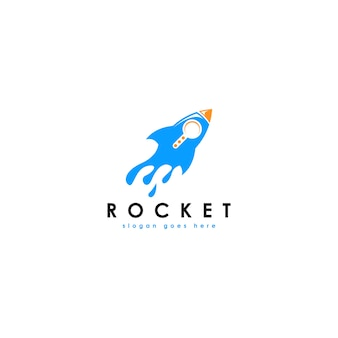 Rocket-logo-vorlage