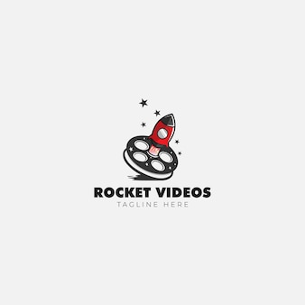 Rocket video logo