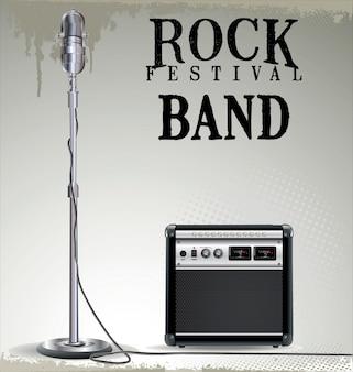 Rockkonzerthintergrund