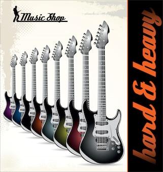 Rockmusik hintergrund