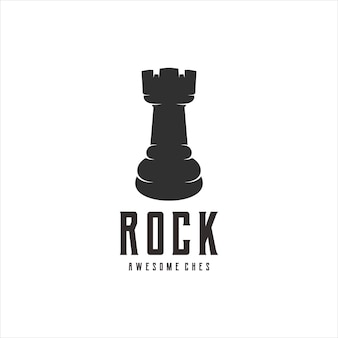 Rockschach vintage retro-designs illustration