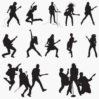 Rockstar silhouetten