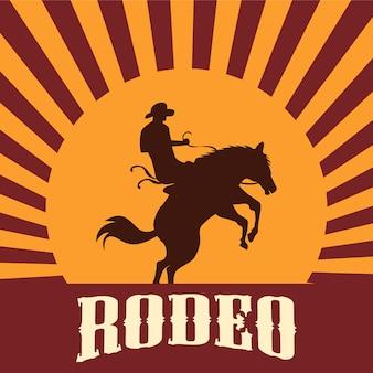 Rodeo hintergrund design