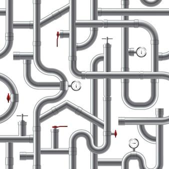 Rohrsystem seamless pattern