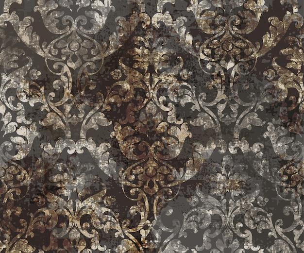 Rokoko-textur-muster