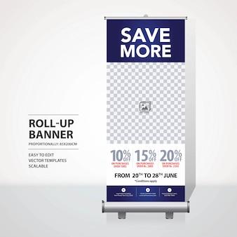 Roll-up-banner-design-vorlage