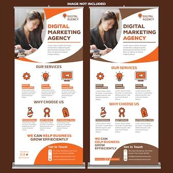 Roll up banner kreative agentur 07
