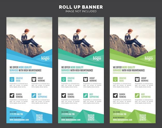 Roll up banner vorlage