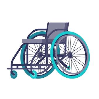 Rollstuhl für den wettbewerb.