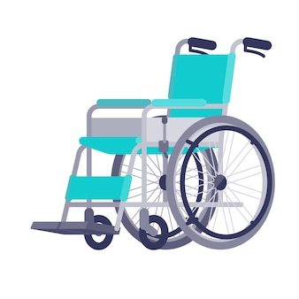 Rollstuhl.vektor-illustration.