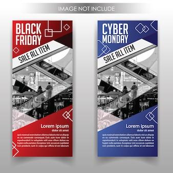 Rollup-banner-schwarz-und-cyber