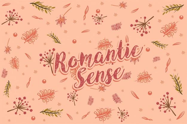Romantische blume