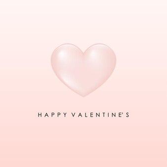 Romantische valentinstagschablone