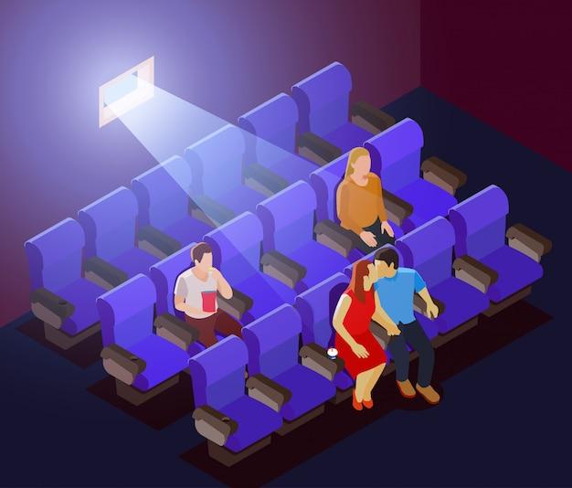 Romantisches dating im kino