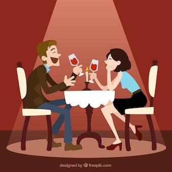 Romantisches datum