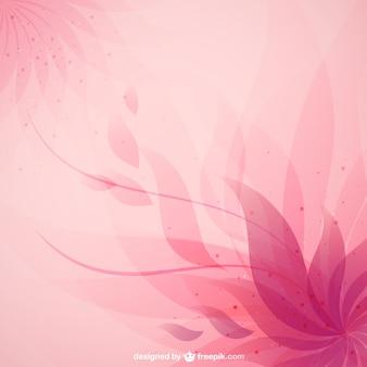 Rosa abstrakte blumen-hintergrund