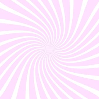 Rosa abstrakte strahlenhintergrund
