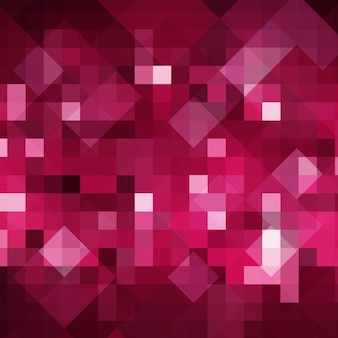 Rosa abstrakten hintergrund in pixelig stil