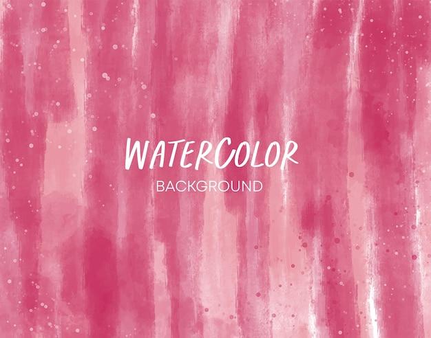 Rosa aquarell-abstrakter hintergrund