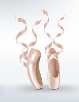 Rosa ballettschuhe