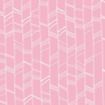 Rosa hintergrund mit weißen stammes-linien