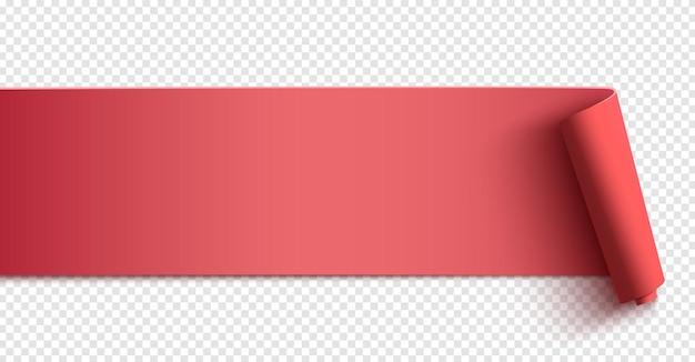 Rosa horizontales banner. poster-, hintergrund- oder broschürenvorlage.