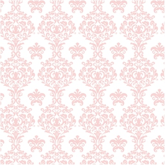 Rosa ornamentalen muster hintergrund