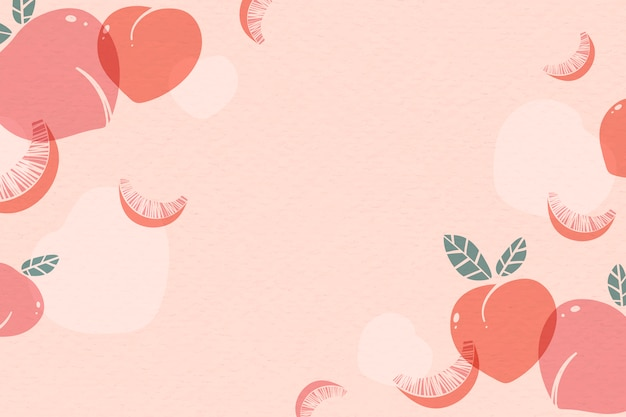 Rosa pfirsichhintergrund