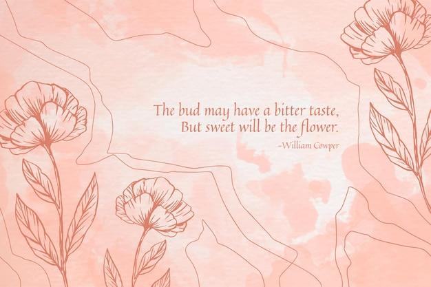 Rosa puderpastellhintergrund