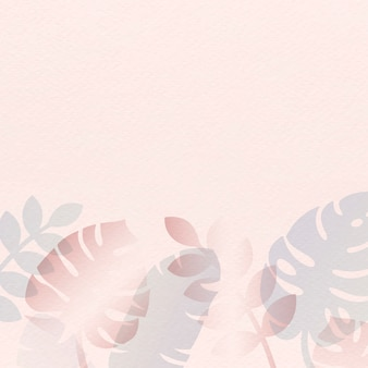 Rosa sommerkarte