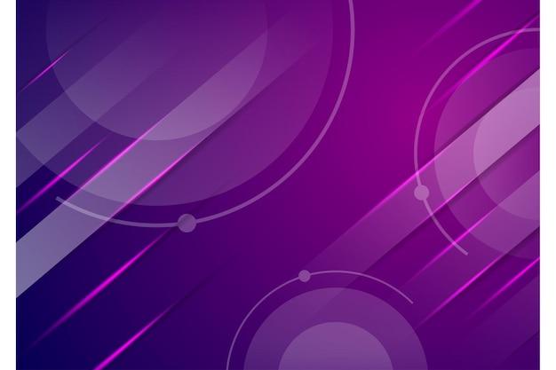 Rosa und blauer abstrakter hintergrund mit geometrischen formen