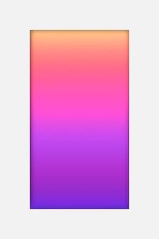 Rosa und lila holografischer musterhintergrund