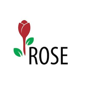 Rosen-blumen-logo-vorlage
