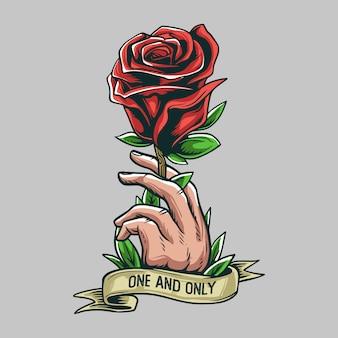 rosen geschenk