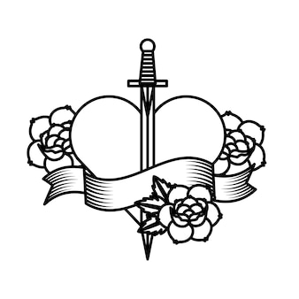 Rosen tattoo design