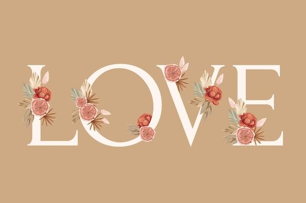 Rosenblumengesteckelement für hochzeitskarte, grußkarte, kalender, fahne, tapete